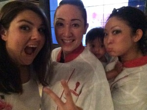 I don't know! Only I would meet the Beni Girls and pull a stupid face! Sigh!