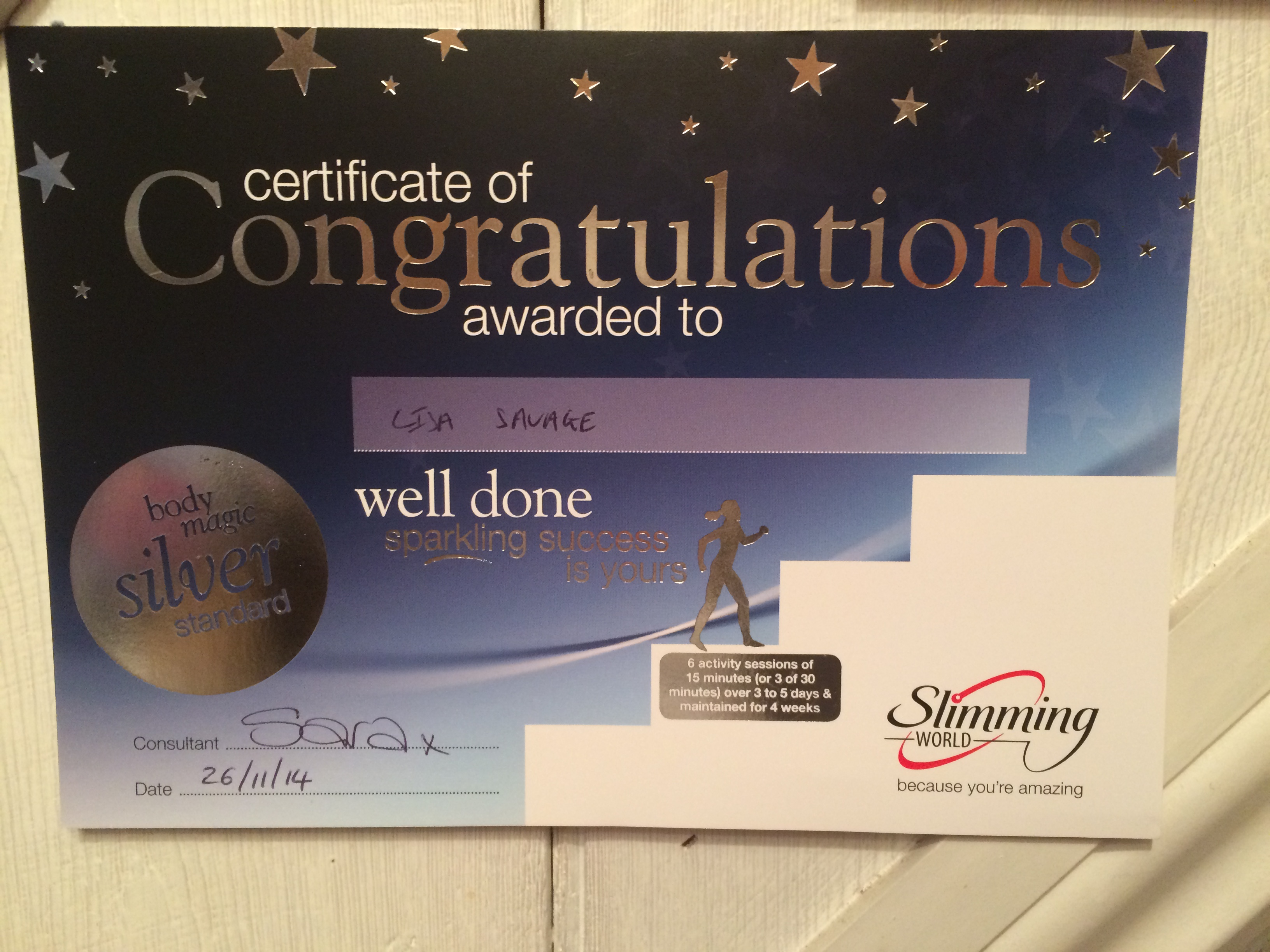 Body Magic Silver Award