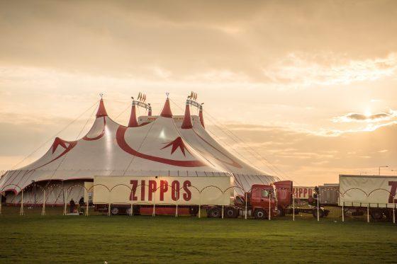 a circus big top